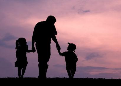 επικοινωνία πατέρα με παιδιά